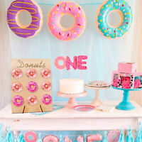 Wooden Donut Wall Candy Stand Table Holder Home Party Decor WeddinTOCA