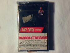 BARBRA STREISAND The third album mc cassette SIGILLATA RARISSIMA SEALED VERY RAR