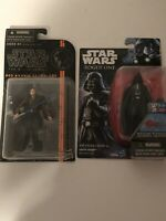 Star Wars Lot Of 2 Action Figures Darth Vader Anakin Skywalker Read Description