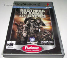Brothers in Arms Road to Hill 30 PS2 (Platinum) PAL *Complete*