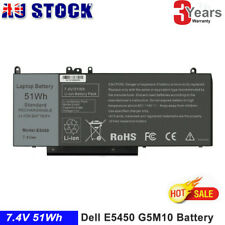"Battery for Dell Latitude E5450 E5550 Notebook 15.6"" WYJC2 8V5GX G5M10 7.4V 51Wh"
