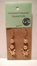 Fairy earrings pagan wicca witch Fae Faeries fairies