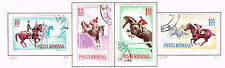 Romania Sport Horse Race set of 1964