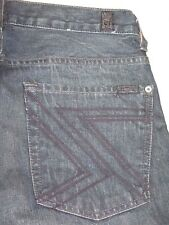 7 For all Mankind Jeans Mens Austyn w Flynt Pockets Relaxed Straight 31 X 28