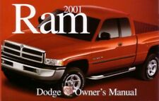 2001 Dodge Ram Truck Owners Manual User Guide Reference Operator Book Fuses OEM