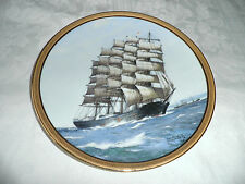THE GREAT SHIPS of  GOLDEN AGE of SAIL PLATE - 'PREUSSEN' 1986 LTD 1ST EDITION