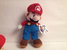 """Mario PLUSH NINTENDO SUPER MARIO BROS 2010 2009 12"""" 30CM"""