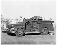1960s GMC 5000 Pirsch Fire Truck Press Photo 0207 - Chevy Chase Fire Dept
