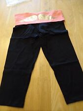 Victoria's Secret Super Model Essentials gold angel wings  legging Pants M