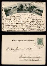 DR WHO 1907 AUSTRIA SCHLOSS SOHLUSSELBURG POSTCARD C188719