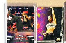 LITA-WWE-2 Card Lot-2018 Topps Women's Division+2018 Topps WD R. Rumble-Mint