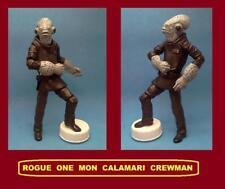 custom Star Wars SUPER ARTICULATED MON CALAMARI CREWMAN raddus force rogue clone
