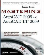 Good, Mastering AutoCAD 2009 and AutoCAD LT 2009, Omura, George, Book