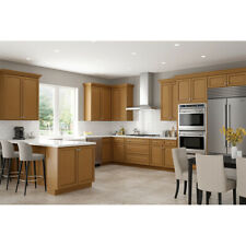Lily ann Cabinets 10x10 Wood Kitchen Cabinets Furniture RTA - Madison Toffee