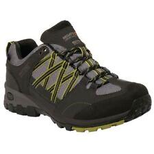 Scarpe da uomo beige da trekking, escursione, arrampicata con stringhe