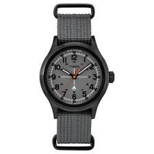 Relógio Masculino Timex Todd Snyder Militar Visor Cinza Pulseira De Nylon TW2R78700JR