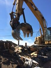 New Strickland Heavy Duty Demolition Excavator Grapple model 115HDR
