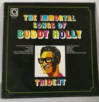 BUDDY HOLLY The Immortal Songs Of 1973 Vintage LP, Vinyl album