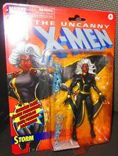 Hasbro Marvel Legends Black Outfit Storm Action Figure Retro Line X-Men