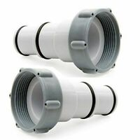 Intex Hose Adapter A w/collar for Threaded Connection Pumps (pair)