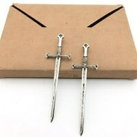 1/12 Scale Sword Medieval Knight Warrior Antique Silver Dolls House Accessories