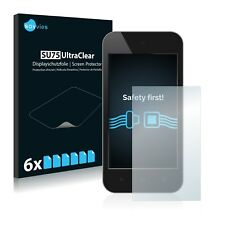 6x Savvies® SU75 Screen Protector for Standard sizes with 2.7 inch Displays [58