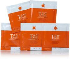 5 x TAN TOWEL ~ tantowel PLUS FULL BODY SELF TAN TOWELETTE NEW! rrp $50!
