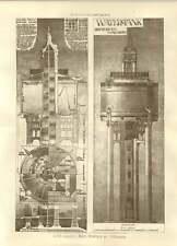 1908 Water Tank In Reinforced Concrete Jh Markham