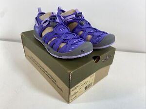 NEW W/Box KEEN Moxie Sandal Big Kids Size 3 Liberty/Lavender Purple 1017158