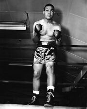 1940s American Boxer JOE LOUIS Glossy 8x10 Photo Vintage Boxing Print Poster