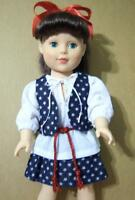 """5P Girl Doll Clothes SET for 18"""" Battat Gotz Tolly Madame Alexander Buy American"""