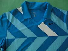 Rare~Nike Dri Fit Nadal Rafael Conquer Polo Tennis Shirt top~Mens sz 2Xl