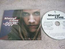CD Si NEU Sheryl Crow Tomorrow never dies 007 JAMES BOND Theme MCD RAR