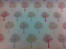 FRYETT`S Orchard Candy( Trees) Cotton Fabric, Upholstery/Curtains/Blinds/Crafts