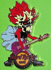 "Hard Rock Cafe SEATTLE 2011 Comicon SHE-DEVIL PIN ""EMERALD CITY"" Playing Guitar"