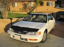 Honda Accord 94 95 96 97 94-97 Custom Bra Car Hood Mask / Bonnet Bra + LOGO