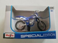 YAMAHA TT R 250 1:18 die cast model Special edition  Authentic Maisto