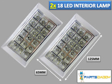 2Pcs 12V 18 LED Car Interior Lights Bar Lamp Van Caravan Boat Home Ceiling 20-23