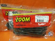 #018-001 Blk Red Glitter ZOOM Ultra Vibe Speed Worm 2 PCKS 15cnt