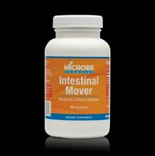 Microbe Formulas Intestinal Mover for Digestive and Detox support. 90 capsules