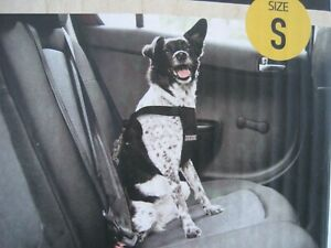 DOG FOR DOG CAR SEAT BELT HARNESS. SMALL BREEDS SIZE:S Safety restraint travel