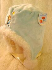 Le ragazze Little Wingels colore Blu Pallido morbida in pile accogliente in Velluto Caldo Orecchio Trapper Hat 5-10