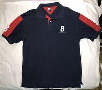 Tommy Hilfiger Mens #8 Polo Cotton Short Sleeve Shirt Size XL