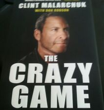 The Crazy Game:Crease and Beyond Hardcover HOCKEY CLINT MALARCHUK GOALIE