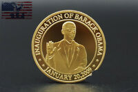 56th Presidential Inauguration of Barack Obama Commemorative Coin Gold