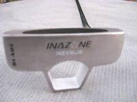 "Inazone Niveus White Blade / Diamond Tour Golf Putter / 35"" / RH"