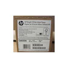 HP BRIGHT WHITE INKJET PAPER 610MM X 45M 90GSM - C6035A