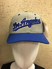 Size 7 New Vintage Deadstock Los Angeles Dodgers MLB Baseball Fitted Cap Hat
