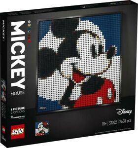 NEW LEGO Art Disney's Mickey Mouse 31202 from Mr Toys