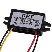 CPT-UL-1 DC to DC Converter Regulator 12V to 5V 15W Car Led Display Power Supply